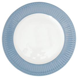 Greengate Alice dinerbord sky blue