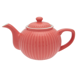 Greengate Alice theepot Coral
