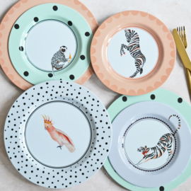 Yvonne Ellen Picnic ontbijtbord set/4