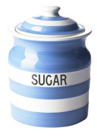 Cornishware Cornishblue voorraadpot suiker