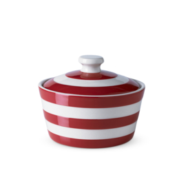 Cornishware red botervloot