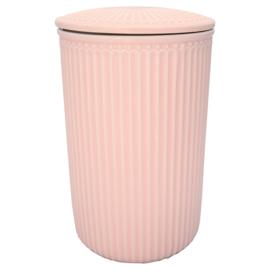 Greengate Alice roze voorraadpot L