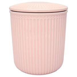Greengate Alice roze voorraadpot M