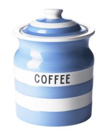 Cornishware Cornishblue voorraadpot koffie