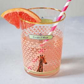 Yvonne Ellen glas giraffe Cocktail hour
