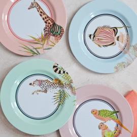 Yvonne Ellen Picnic melamine set/4  ontbijtbord