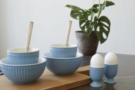 Greengate Alice sky blue eierdop