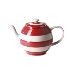 Cornish red theepot Betty L