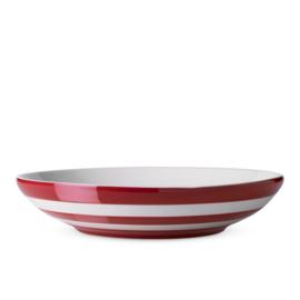 Cornishware Red pasta schaal