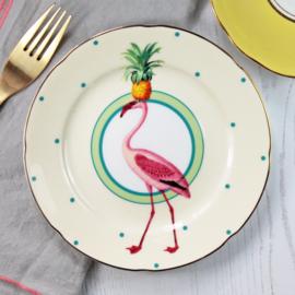 Yvonne Ellen gebaksbord Flamingo