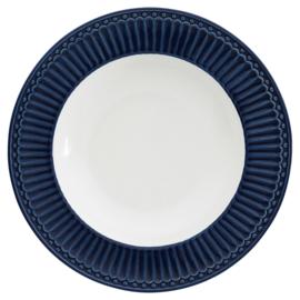 Greengate ontbijtbord blauw Alice