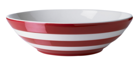 Cornishware red serveerschaal