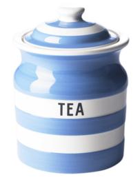 Cornishware Cornishblue voorraadpot thee