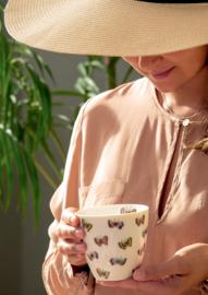 Greengate lattecup Maisie white vlinder