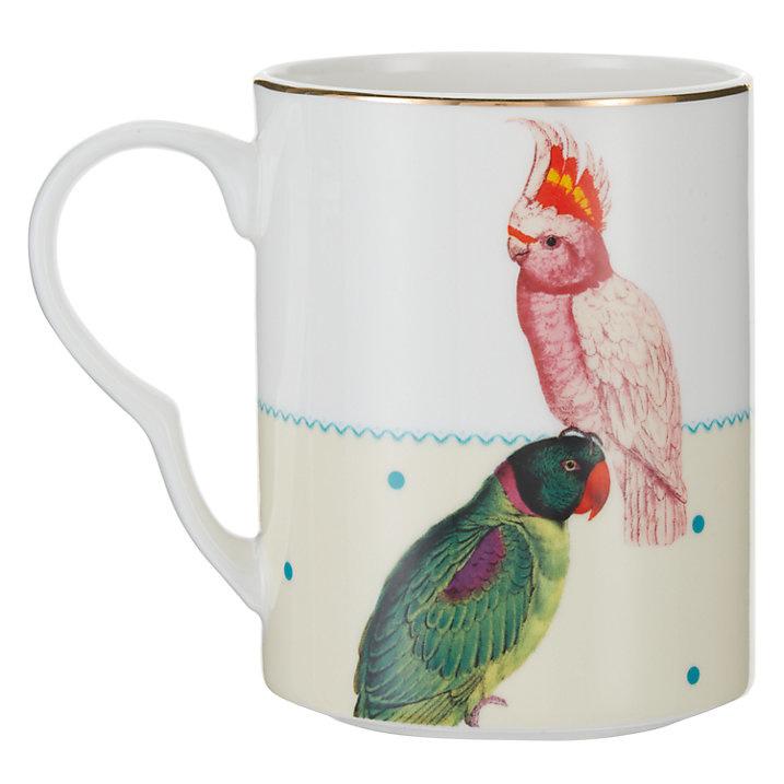 Yvonne Ellen mok papegaai