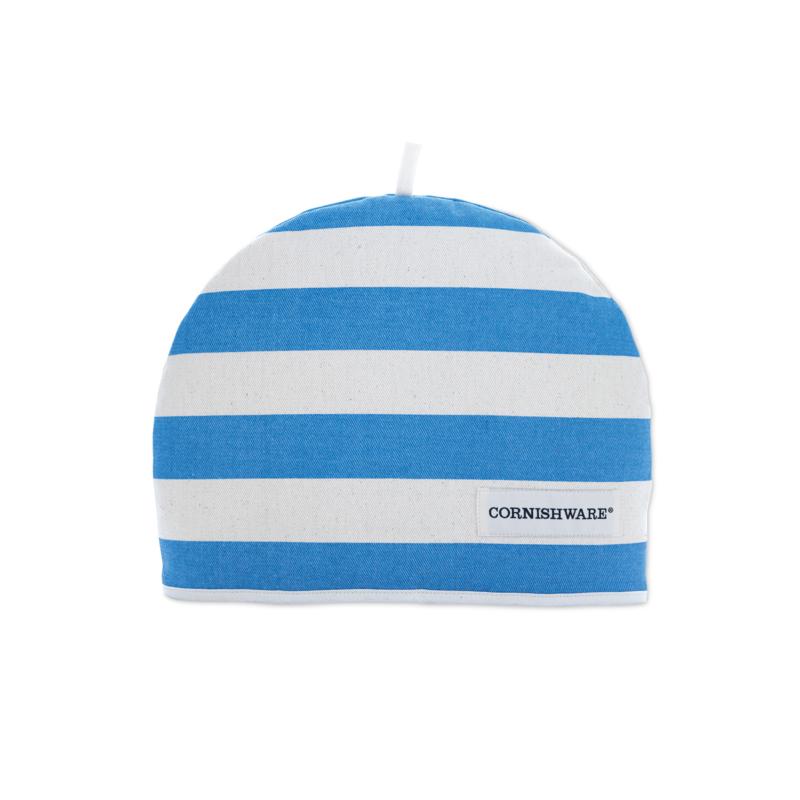 Cornishware Cornishblue theemuts blauw