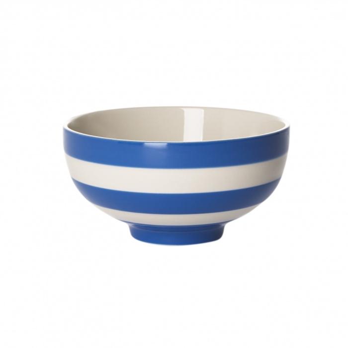 Cornishware Cornishblue kom L blauw