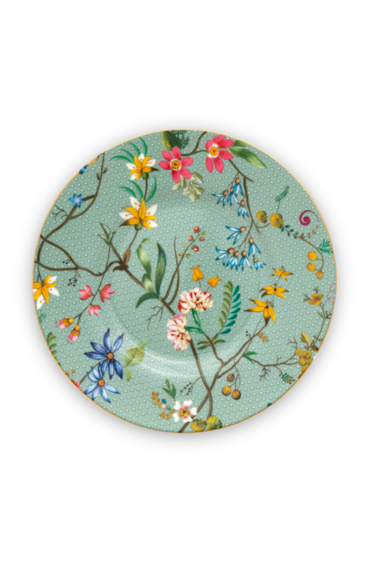 Pip Studio petit four Jolie Flowers Blue