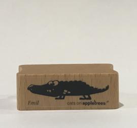 SET Stempel Krokodil+ Inkt Small