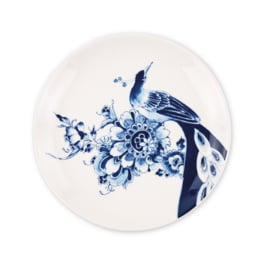 Royal Delft - Peacock Symphony dessertbord coupe
