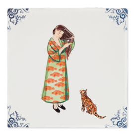 Story Tiles medium - Maak dat de kat wijs