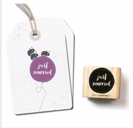 stempel Just Married 2 2594