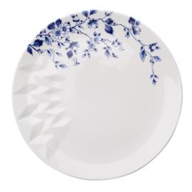 Delfts 'Blauw Vouw' Dinerbord