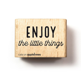 Stempel enjoy the little things 2716