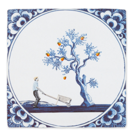Story Tiles small - De appel valt niet ver van de boom