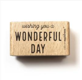 stempel wonderful day 27293