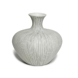 Lindform - Anna- Wit/grijs gestreept
