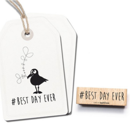 stempel Best day ever 2484