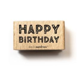 Stempel Happy Birthday 6 27260