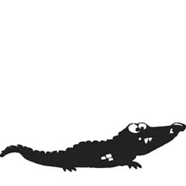 ALLEEN Stempel grote Krokodil Manouk