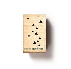 Stempel driehoekjes 2673