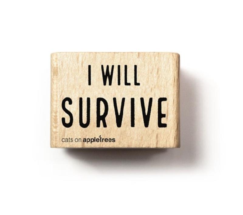 Stempel I will survive 27262