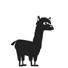 Stempel Alpaca Jupp (2436)