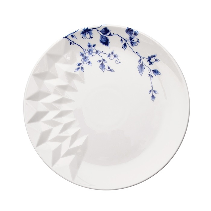 Delfts 'Blauw Vouw' Ontbijtbord