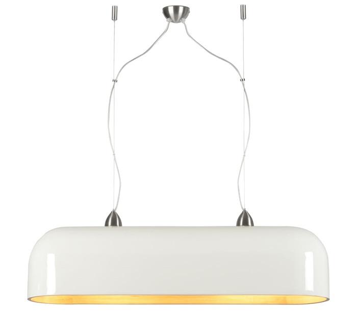 Good&Mojo Halong ovaal hanglamp wit