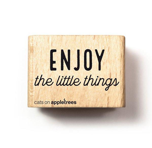 Stempel enjoy the little things 2716