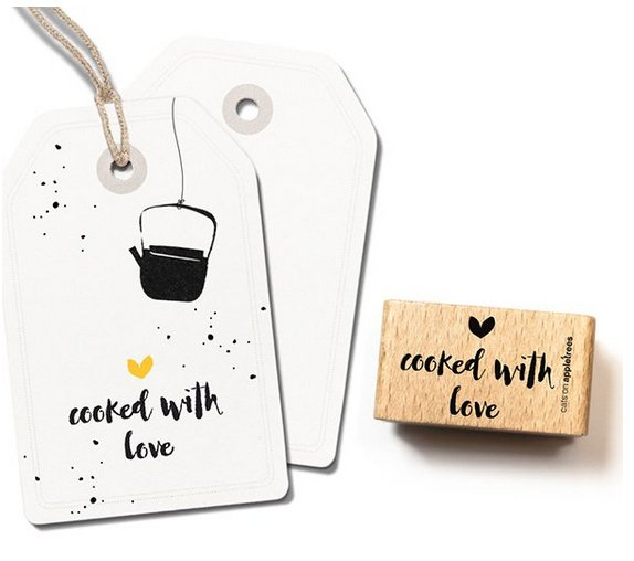 stempel Cooked with love 2402