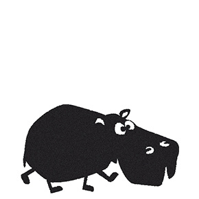 Stempel Nijlpaard Karla (2432)