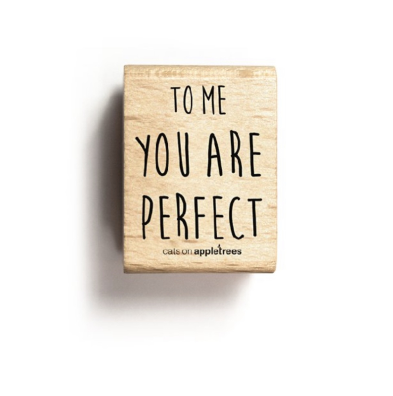 Stempel To me you are perfect 27258