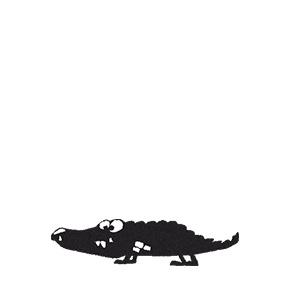 ALLEEN Stempel Krokodil Emil