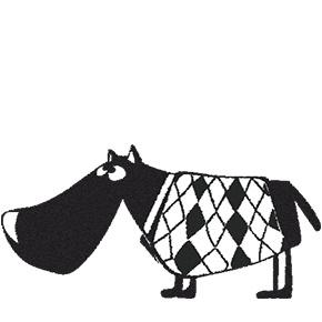 Stempel Hond George (2421)