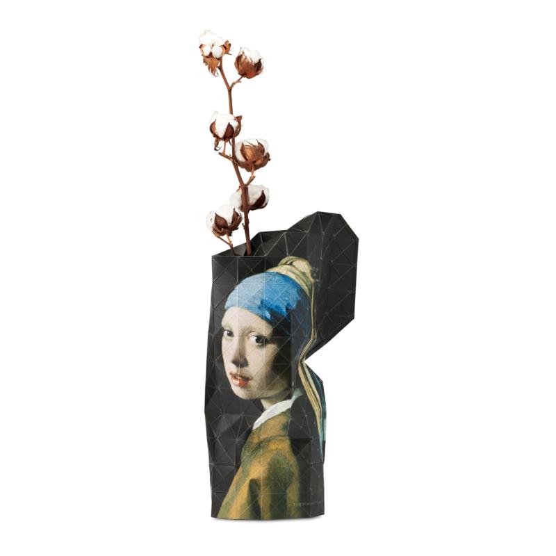Pepe Heykoop - Papieren Vaas small- the Girl with the Pearl Earing