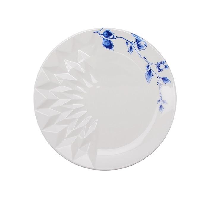 Delfts 'Blauw Vouw' Gebaksschotel