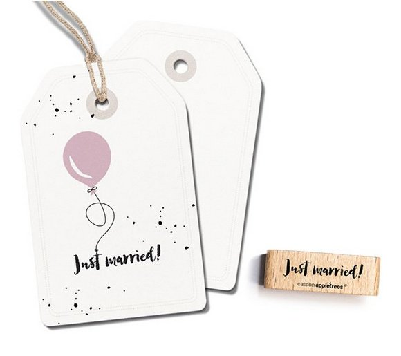 stempel Just Married 2395