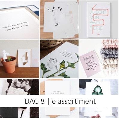 DAG 8   je assortiment