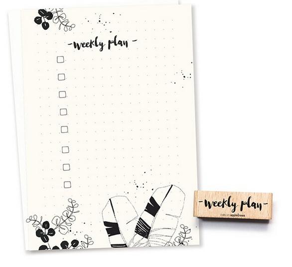 stempel Weekly Plan 2493